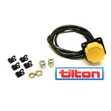 "Tilton Standard Remote Brake Bias Cable Adjuster to fit  3/8"" & 7/16"" Yellow"