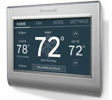 Smart Touch Honeywell Wi-Fi Thermostat Color7Days Programmable Works GoogleHome