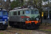 PHOTO  POLISH RAILWAYS -  PKP CLASS EP07 NO EP07-338 VIEW 2 (WITH RIBBED SIDES A
