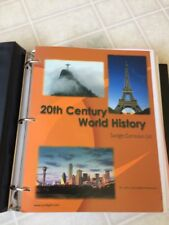 Sonlight Highschool 20th Century World History-Teachers Guide and Notes 2005 Ed.