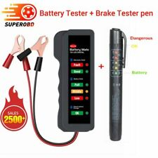 Car Battery Tester Accurate Oil Quality Check Pen Universal Brake Fluid Tester