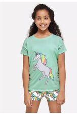 NWT JUSTICE Girls Shimmer Unicorn Bath Hoodie Robe Pajamas  Sz 12 14 16 18 20