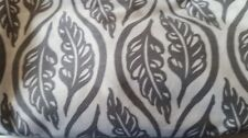 Bebe au Lait Premium Cotton Nursing Cover Gray/White Leaf Pattern NEW UNUSED