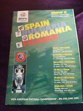 Uefa Euro 96 Group B Programme