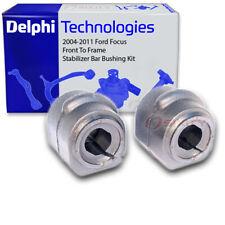 Delphi Front To Frame Stabilizer Bar Bushing Kit for 2004-2011 Ford Focus - vy