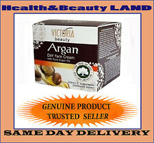 gVictoria Beauty - Day Face Cream With Pure Argan Oil All Skin Types - 50ml