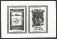 Andorra #337-38 1984 Europa composite photographic proof