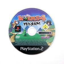[PAL Version] WORMS 4 MAYHEM Sony PlayStation PS2 Game Disc ONLY [PAL Version]