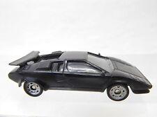 eso-4004Monogram 1:87 Lamborghini schwarz mit minimale Gebrauchsspuren