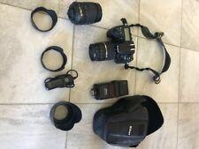 Set complet D300s NIKON: boitier, 2 objectifs, flash, fourre, sac, accessoires