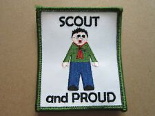 Scout And Proud Cloth Patch Badge Boy Scouts Scouting L3K D