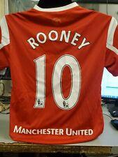 Rooney Manchester United Nike Home Soccer Jersey Medium