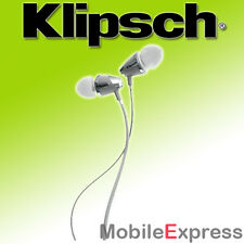 GENUINE Klipsch Image S4 II Earphones In-Ear Headphones Noise Isolating / WHITE