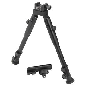 """10"""" CCOP Badger Tactical Bipod with Picatinny Swivel Stud Mount 59M"""