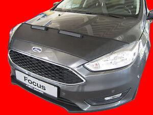 CAR HOOD BONNET BRA fit Ford Focus 2014-2018   NOSE FRONT END MASK TUNING