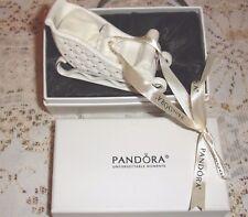 Pandora Babbo Natale Slitta di Natale ornamento 2014 Ltd Edition-SILK foderato BOX-NUOVO