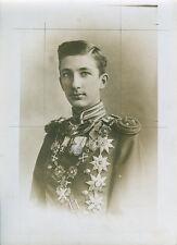 Prince Boris de Bulgarie - 1910