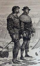 Eau forte de Mélingue, Levée du siège de Metz en 1553