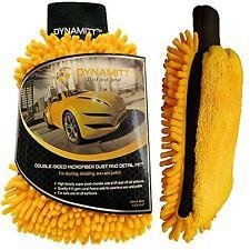 Microfiber Car Wax, Polish and Dusting Mitt, Dual-sided, Thicker Polishing Spong