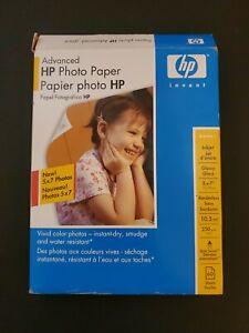 Hewlett Packard Q6638A 4 x 6 inch Glossy Printer Paper - 100 Sheets- Open Box