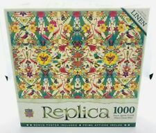 Master Pieces Replica Flamingos 1000 Piece Linen Jigsaw Puzzle