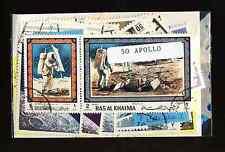 Apollo 50 timbres différents oblitérés