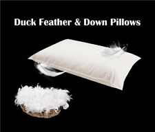 Duck Feather & Down Pillows, Comfortable Soft And Premium Quality 2 4 6