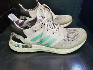 Adidas Ultra Boost 20 Running Shoes Parley Primeblue Mens 12
