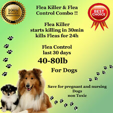 K9 Instant Flea Killer and Control COMBO 6+6 Large Dogs40-80lb prevention
