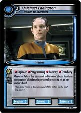 Star Trek CCG 2E Call To Arms Michael Eddington, Traitor To Starfleet 3R177