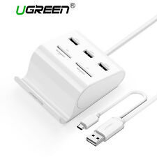 Ugreen All in 1 USB 3.0 3 Port HUB Micro USB Host OTG SD TF MS Card Reader Power
