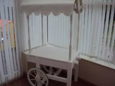 Hire Only Small White Candy Cart Perfect For Wedding Function Party - Essex
