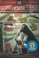 12 CLASSIC CULT HORROR MOVIES! NEW & SEALED DVD BOX SET