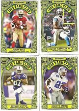 Lot of 25 2013 Topps Archives Football 1000 Yard Club set