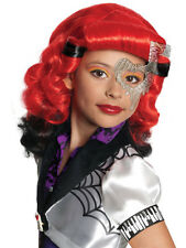 Infantil Monster High Opereta Peluca Fancy Dress Libro Semana Kids Halloween Niñas