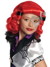 BAMBINO Monster High Operetta Parrucca FANCY DRESS LIBRO SETTIMANA BAMBINI Halloween Ragazze