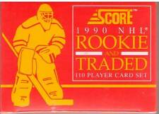 1990 Score NHL Rookie and Traded Factory Sealed Set 110 Cards