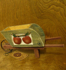 Boyds Accessories #658105 NEWTON'S APPLE WHEELBARROW New from our Retail Store