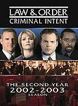Law & Order: Criminal Intent - The Second Year 2092-2003 (DVD, 2006, 5-Disc Set)