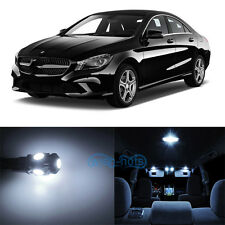 9x White SMD LED Interior Lights Package For Mercedes Benz CLA250 CLA45 AMG WK