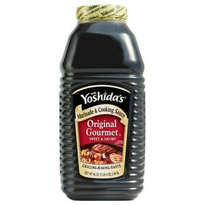 Mr. Yoshida's Original Gourmet Sauce 1 Pack (86 Ounce) 5.37 Pound (Pack of 1)