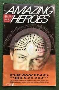 Amazing Heroes #130 Fantagraphics Bronze Age comic book fanzine prozine