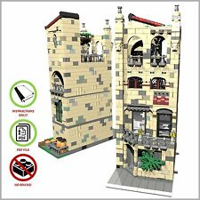 LEGO MOC Modular Gourmet Restaurant - CUSTOM Model - PDF Instructions Manual