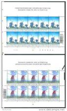 Belgium**WINDMILLS -2 SHEETS@10vals-2002-WINDMOLENS-Moulins à Vent-WINDMUEHLEN