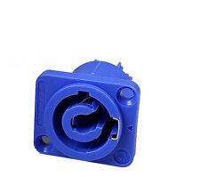 Powercon Einbau NAC3MPA Neutrik Nachbau, super Qualität wie Original, Blau
