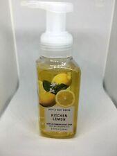 Bath & Body Works kitchen lemon gentle foaming hand soap 8.75 oz Bs10