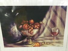 1999 Mary Gibilisco Packet Fruit, Cloth And Pitcher OILS