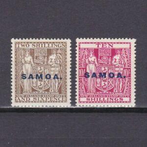 SAMOA 1914, SG# 123, 125, CV £46, MH