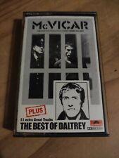 MCvicar Soundtrack Cassette Tape