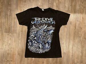 VTG The Devil Wears Prada Band Pirate Black T-shirt Men's size Small S TDWP